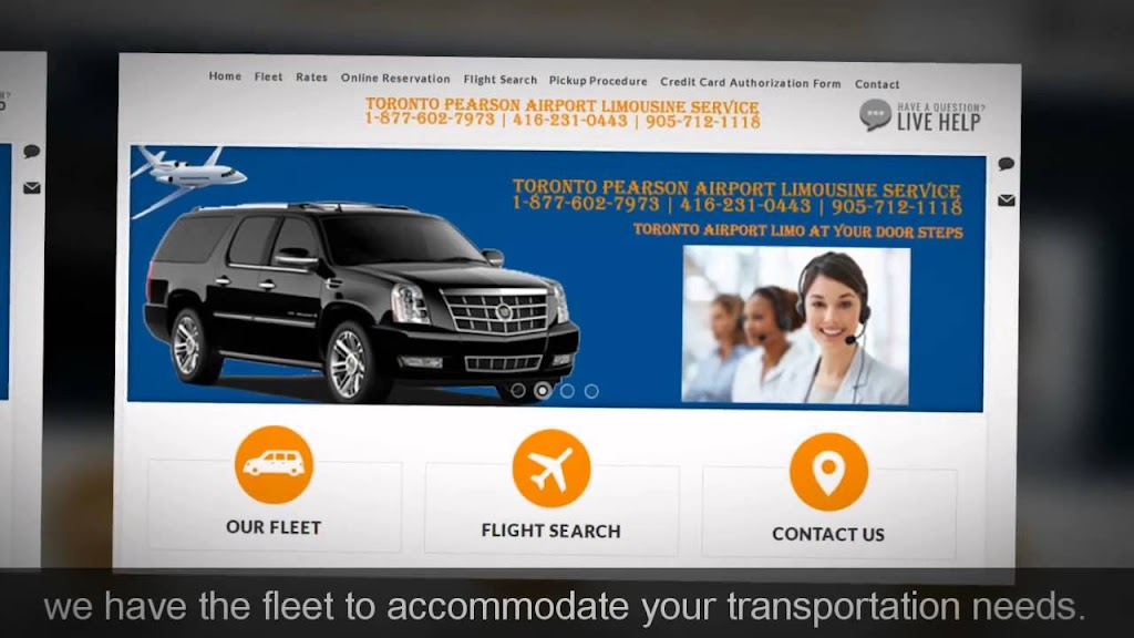 Pearson Airport Limo - Toronto Pearson Airport Limousine Service | point of interest | 184 Queen St N # 4, Hamilton, ON L8R 2W3, Canada | 4162310443 OR +1 416-231-0443