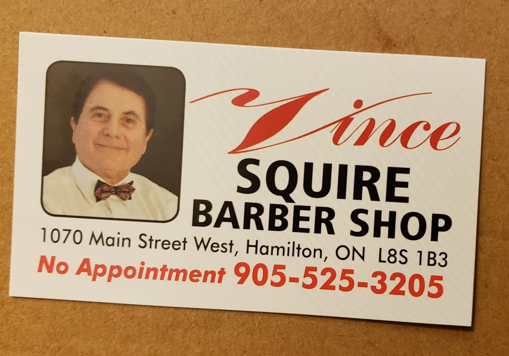 The Squire | hair care | 1070 Main St W, Hamilton, ON L8S 1B3, Canada | 9055253205 OR +1 905-525-3205