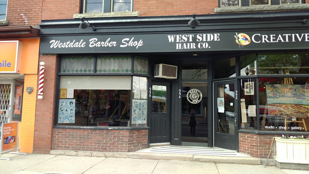 Westdale Barber Shop | hair care | 996 King St W, Hamilton, ON L8S 1L1, Canada | 9055271523 OR +1 905-527-1523