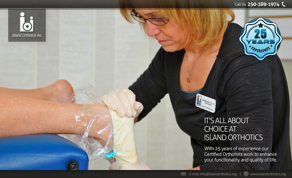 Island Orthotics | health | 1812 Cook St, Victoria, BC V8T 3P6, Canada | 2503891974 OR +1 250-389-1974