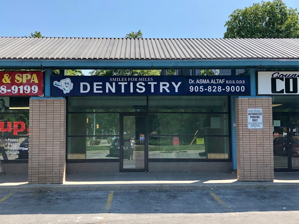 Smiles For Miles Dentistry | dentist | 2340 Council Rd, Mississauga, ON L5L 1C1, Canada | 9058289000 OR +1 905-828-9000