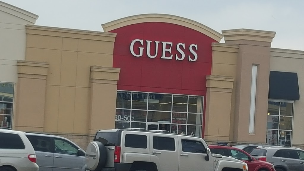 GUESS Factory | clothing store | TRINITY COMMONS, 40 Great Lakes Dr Unit 104B, Brampton, ON L6R 2K7, Canada | 9057931888 OR +1 905-793-1888