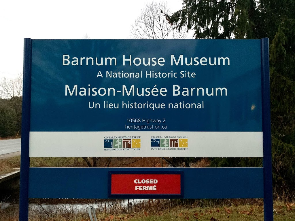 Barnum House Museum   museum   10568 County Rd 2, Grafton, ON K0K 2G0, Canada   9053492656 OR +1 905-349-2656