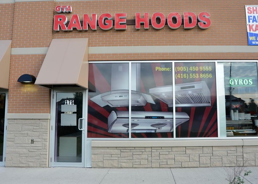 GTA Range Hoods | home goods store | 175 Fletchers Creek Blvd #5, Brampton, ON L6X 0Y7, Canada | 9054509555 OR +1 905-450-9555