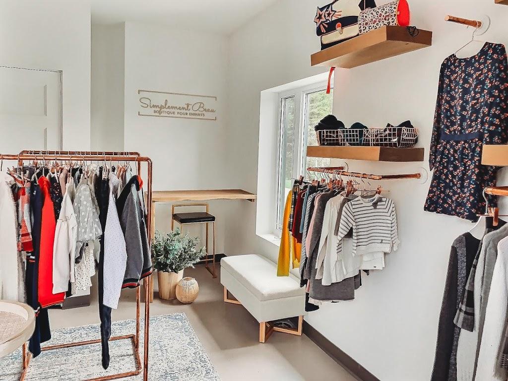 Simplement Beau | clothing store | 13 Rue Bernier, Saint-Éphrem-de-Beauce, QC G0M 1R0, Canada | 4182252177 OR +1 418-225-2177