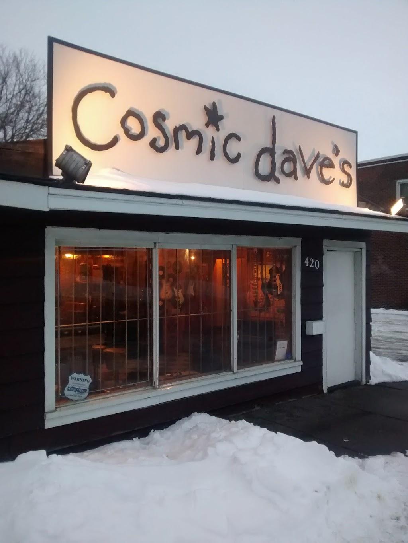 Cosmic Daves Guitar Emporium | electronics store | 420 Elgin St, Sudbury, ON P3B 1B2, Canada | 7052226862 OR +1 705-222-6862