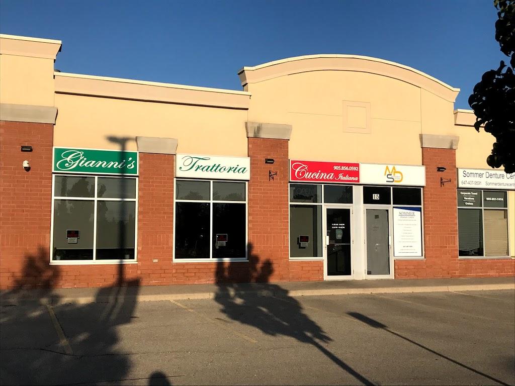 Giannis Trattoria   restaurant   8787 Weston Rd, Woodbridge, ON L4L 1A6, Canada   9058560592 OR +1 905-856-0592