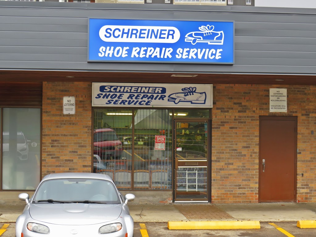 Schreiner Shoe Service | store | 315 Lincoln Rd, Waterloo, ON N2J 4H7, Canada | 5198869980 OR +1 519-886-9980