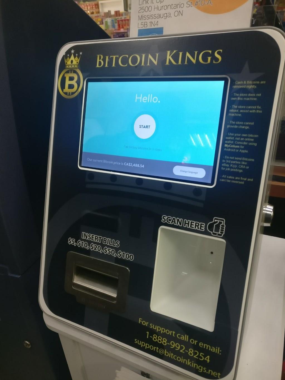 Bitcoin Kings Bitcoin ATM   670 Rexdale Blvd, Etobicoke, ON