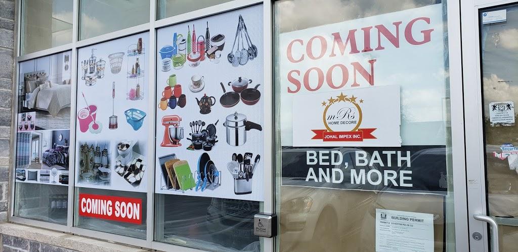 M.R.S Home Decor | home goods store | 25 Cherrycrest Drive, Brampton, ON L6P 3W4, Canada | 6472074644 OR +1 647-207-4644