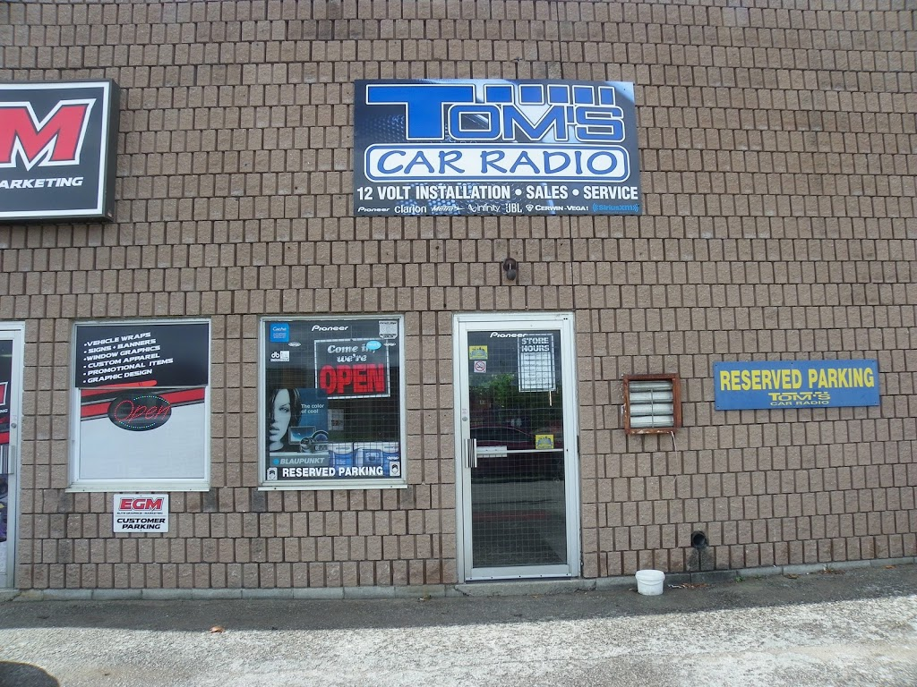 Toms Car Radio | car repair | 422 Dunlop St W BLDG 1, Barrie, ON L4N 1C2, Canada | 7057269167 OR +1 705-726-9167