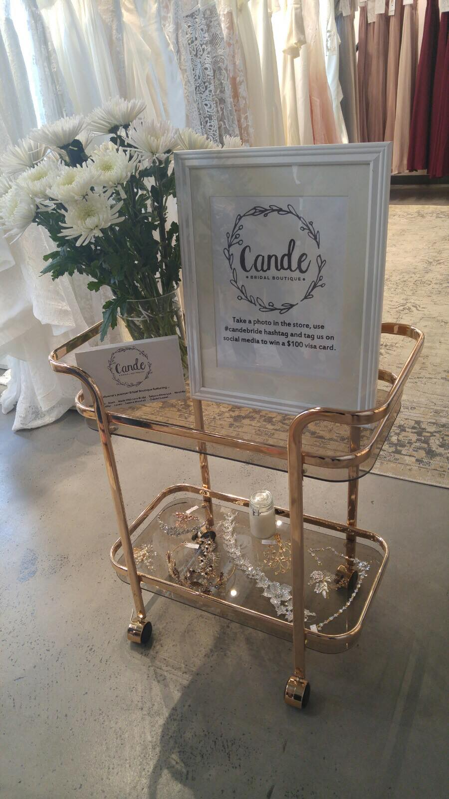 Cande Bridal Boutique | clothing store | 1350 St Paul St #202, Kelowna, BC V1Y 2E1, Canada | 2364202960 OR +1 236-420-2960