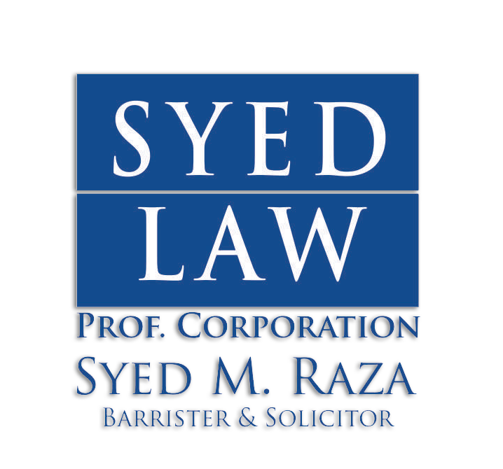 Syed Law Office   lawyer   7071 Airport Rd #206, Mississauga, ON L4T 4J3, Canada   9056737727 OR +1 905-673-7727