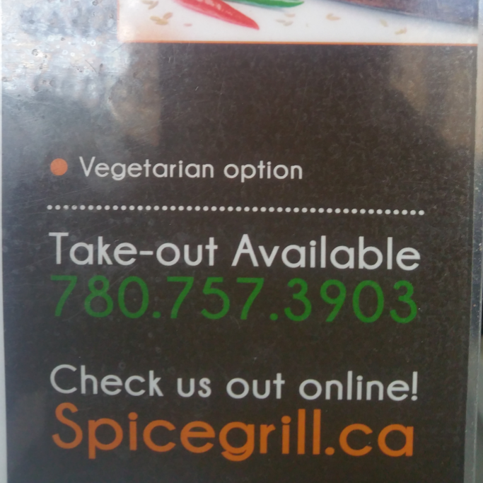 Spice Grill | restaurant | 8205 108 St NW, Edmonton, AB T6E 2A8, Canada | 7807573903 OR +1 780-757-3903