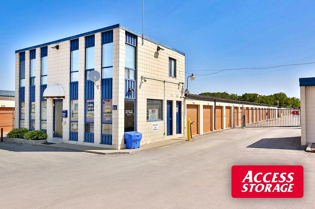 Access Storage - Barrie | storage | 91 Anne St S, Barrie, ON L4N 2E2, Canada | 7059961770 OR +1 705-996-1770