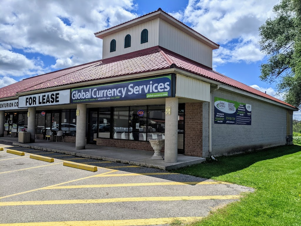 Global Currency Services Inc   point of interest   1027 Gordon St, Guelph, ON N1G 4X1, Canada   5197637330 OR +1 519-763-7330