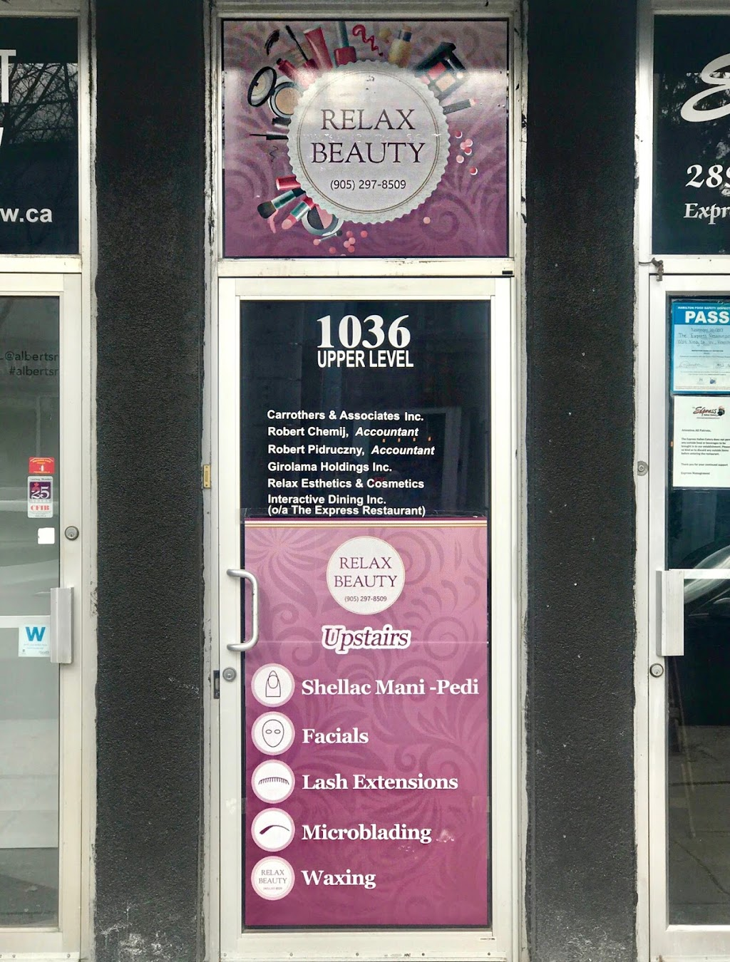 Relax Beauty | hair care | 1036 King St W, Hamilton, ON L8S 1L5, Canada | 9052978509 OR +1 905-297-8509
