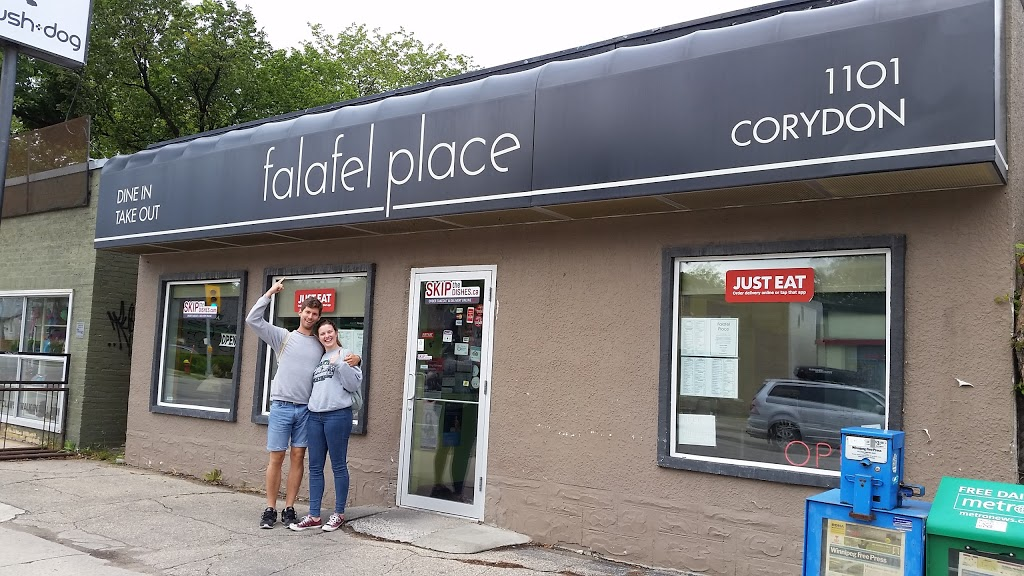 Falafel place | meal delivery | 1101 Corydon Ave, Winnipeg, MB R3M 0Y8, Canada | 2044895811 OR +1 204-489-5811