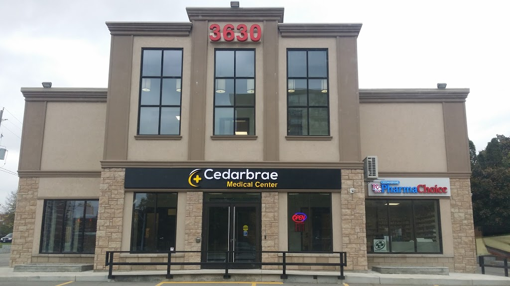 Cedarbrae Medical Center | hospital | 3630 Lawrence Ave E, Scarborough, ON M1G 1P6, Canada | 4169016370 OR +1 416-901-6370