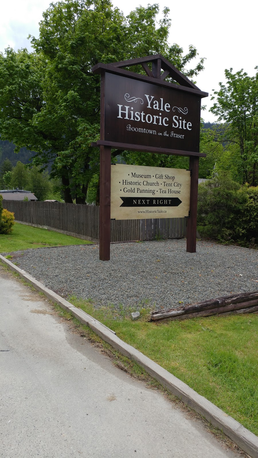 Yale Historic Site | church | 31187 Douglas St, Yale, BC V0K 2S0, Canada | 6048632324 OR +1 604-863-2324