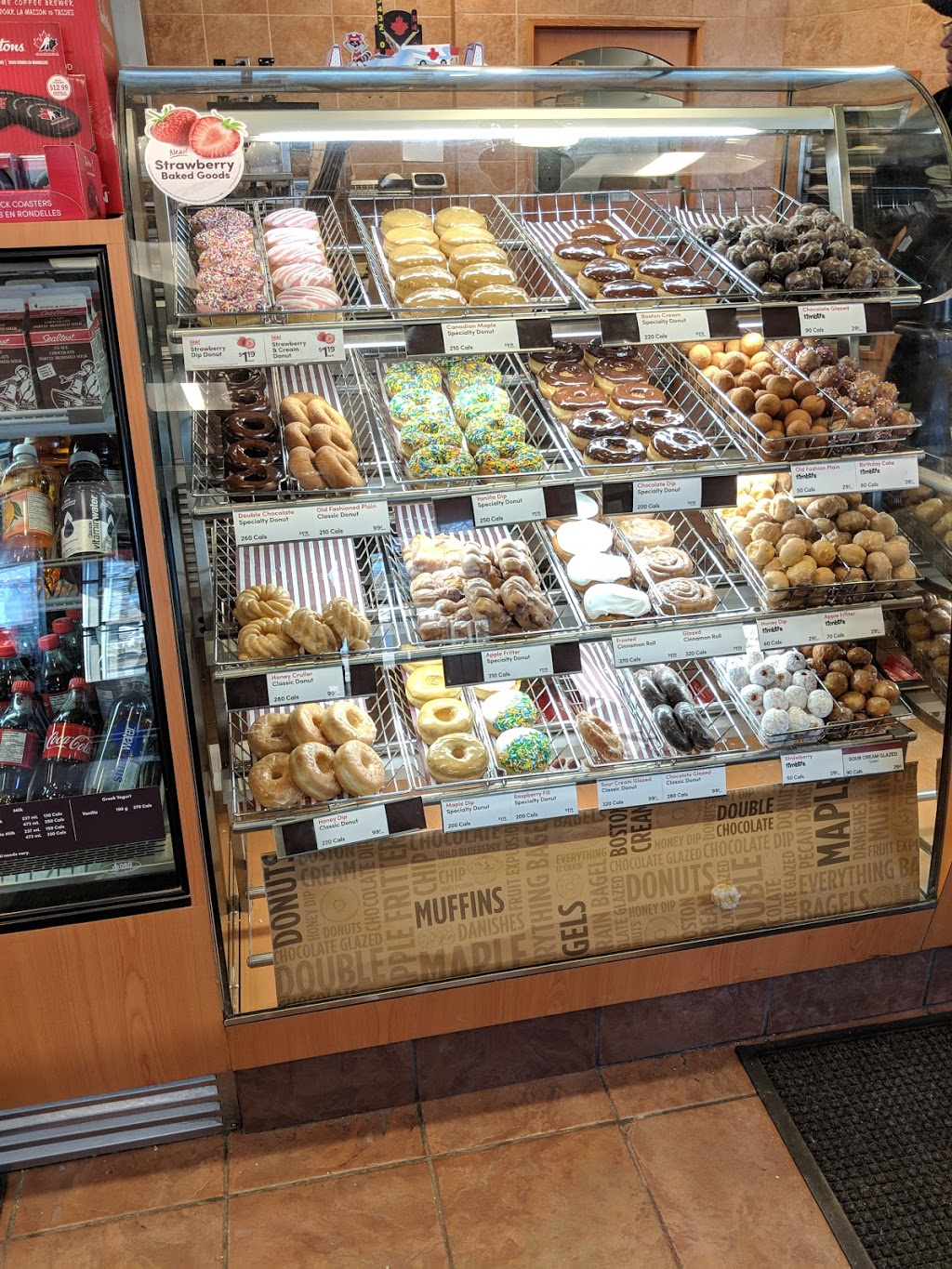 Tim Hortons | cafe | 836 Wallace Ave N, Listowel, ON N4W 1M4, Canada | 5192919990 OR +1 519-291-9990