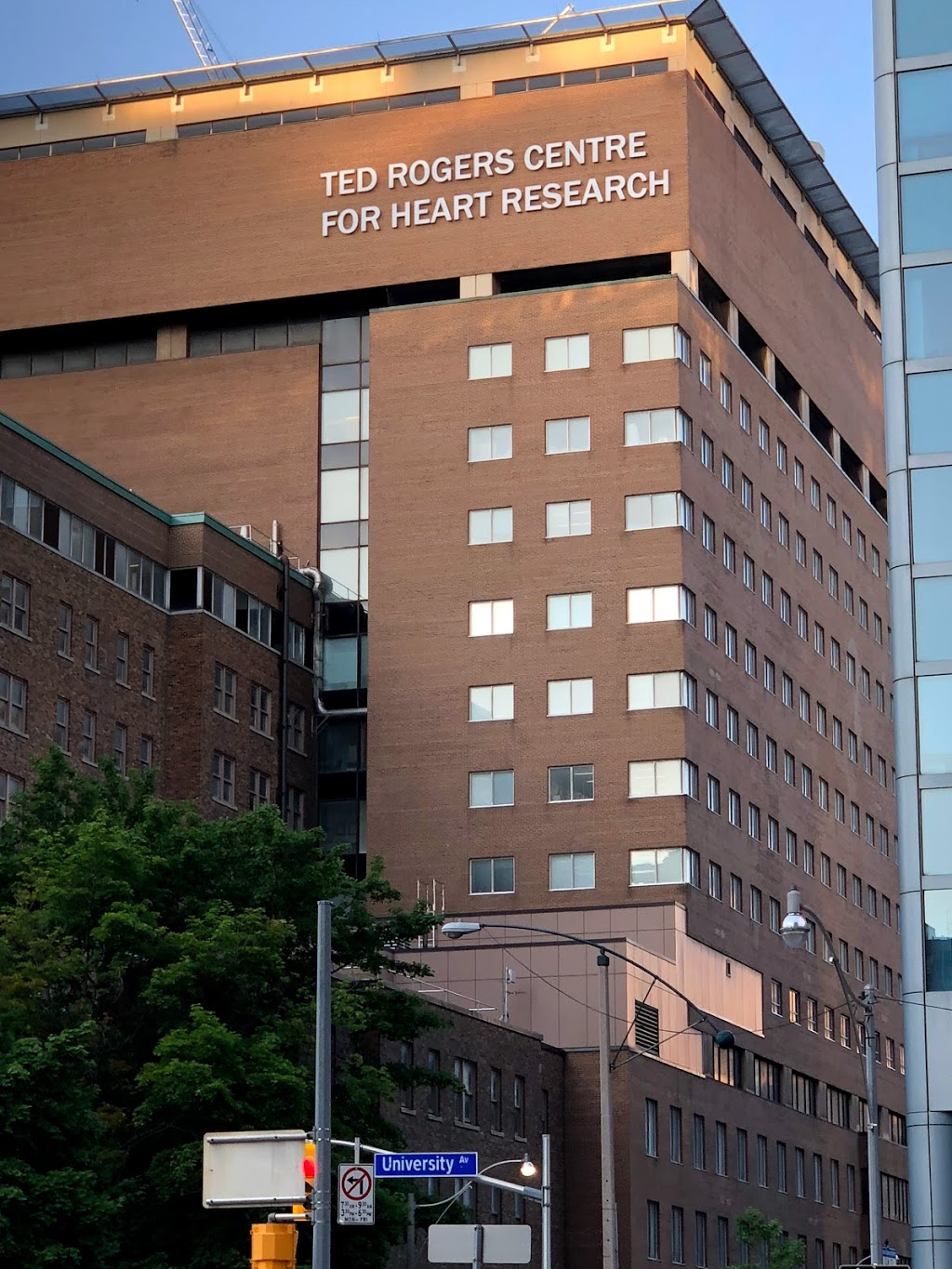 Ted Rogers Centre For Heart Research | hospital | 661 University Ave, Toronto, ON M5G 1X8, Canada | 4169468305 OR +1 416-946-8305