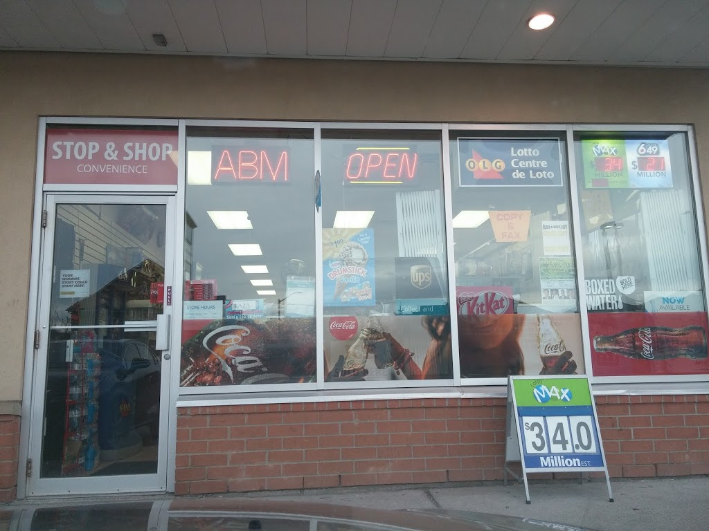 STOP & SHOP | convenience store | 5030 Tenth Line W, Mississauga, ON L5M 7Z5, Canada | 9056078718 OR +1 905-607-8718
