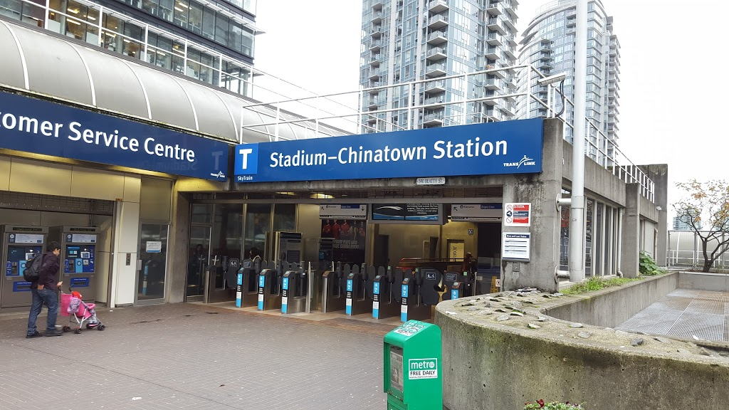 Stadium-Chinatown Station | subway station | Vancouver, BC V6B 2L3, Canada