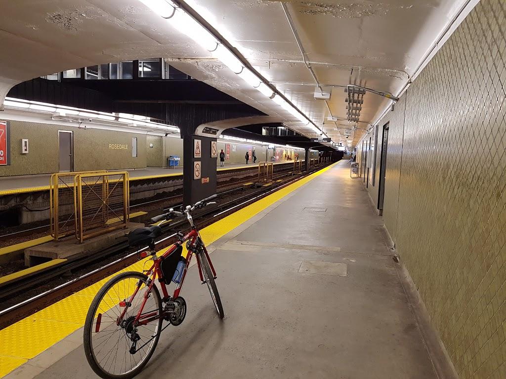 Rosedale | subway station | Toronto, ON M4W, Canada