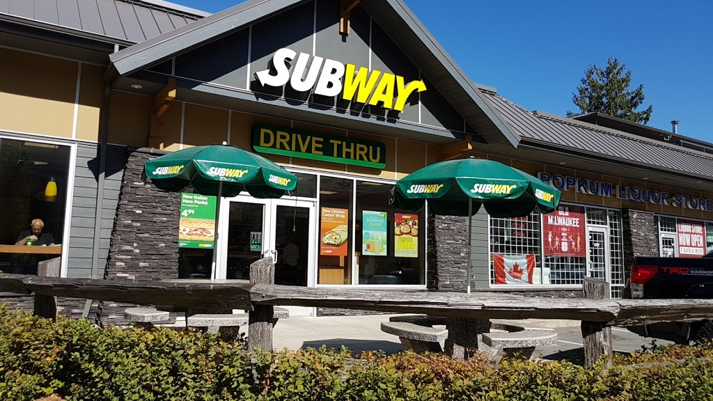 Subway | meal takeaway | 53003 Bunker Rd #100, Rosedale, BC V0X 1X0, Canada | 6047454545 OR +1 604-745-4545