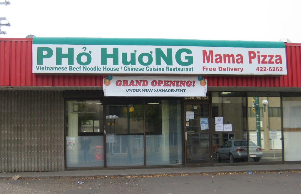 Pho Huong & Mama Pizza | restaurant | 10531 107 Ave, Edmonton, AB T5H 0W3, Canada | 7804226262 OR +1 780-422-6262