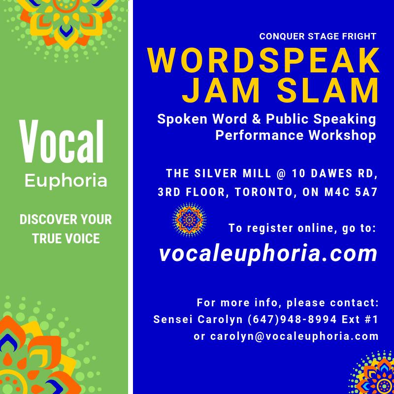 Word Speak Jam Slam | school | The Silver Mill, Back Door, 10 Dawes Rd 3rd Floor, Toronto, ON M4C 5A7, Canada | 6479488994 OR +1 647-948-8994