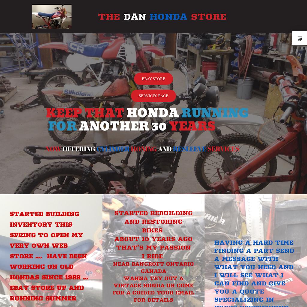 THE DAN HONDA STORE ONTARIO | car repair | 375 Joseph St #4, Carleton Place, ON K7C 3Z5, Canada | 6132579531 OR +1 613-257-9531