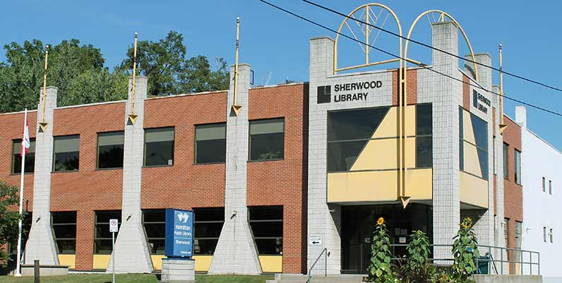 Hamilton Public Library - Sherwood Branch | library | 467 Upper Ottawa St, Hamilton, ON L8T 3T3, Canada | 9055463249 OR +1 905-546-3249