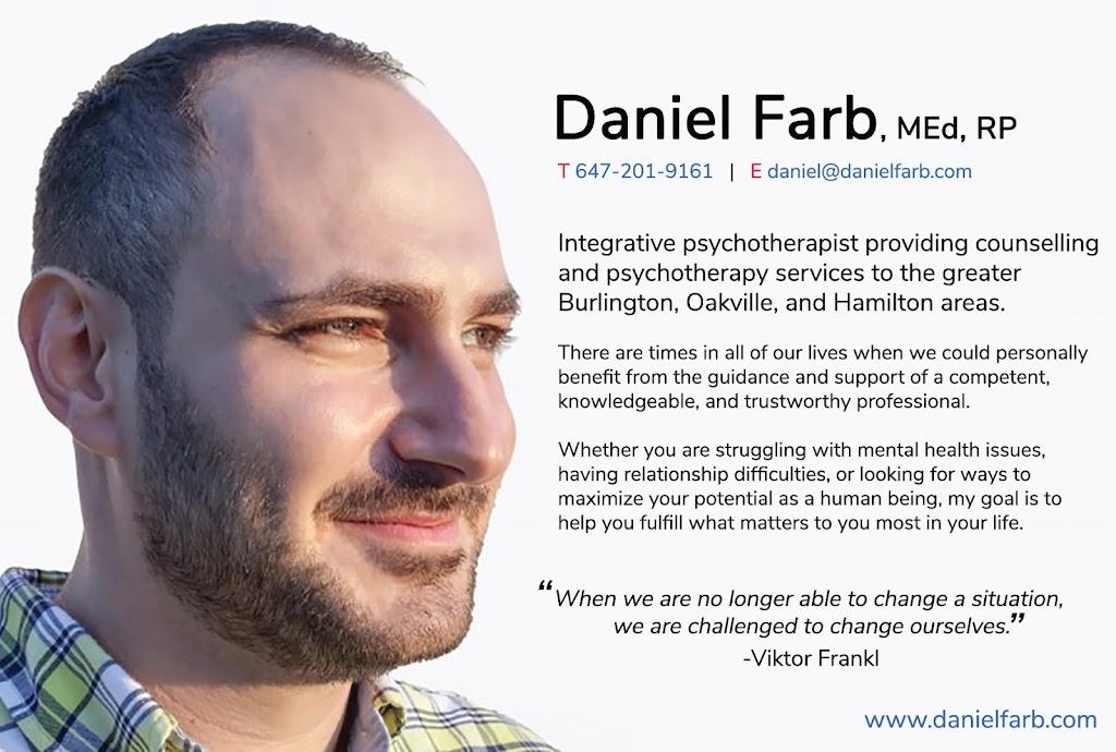 Daniel Farb Psychotherapy Services   health   419 Burlington Ave, Burlington, ON L7S 1R3, Canada   6472019161 OR +1 647-201-9161
