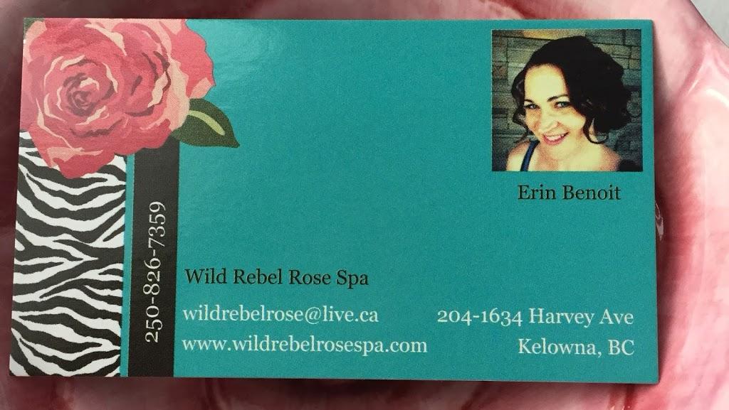 Wild Rebel Rose Spa | spa | 208 - 1139 Sutherland Ave, Kelowna, BC V1Y 5Y5, Canada | 2508267359 OR +1 250-826-7359