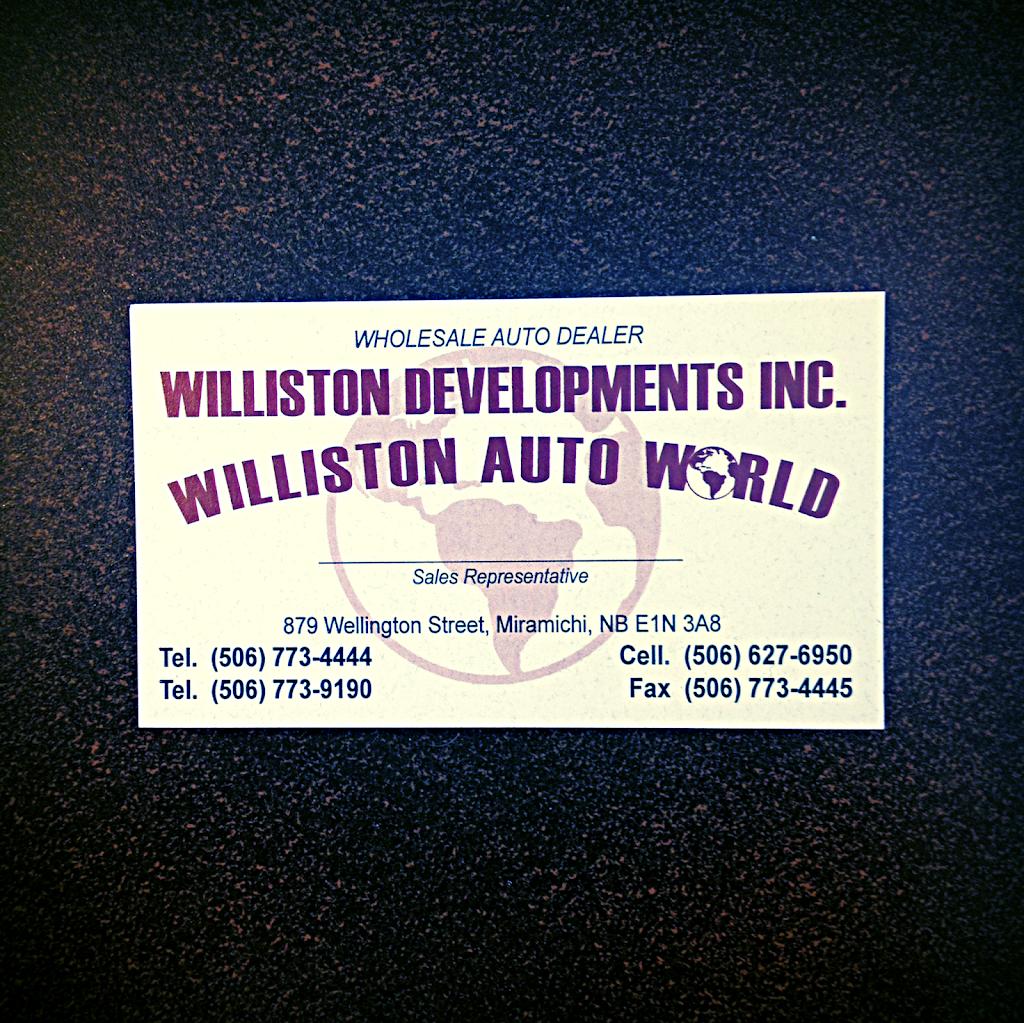 Williston Auto World   car dealer   882 Wellington St, Miramichi, NB E1N 4N3, Canada   5067734444 OR +1 506-773-4444