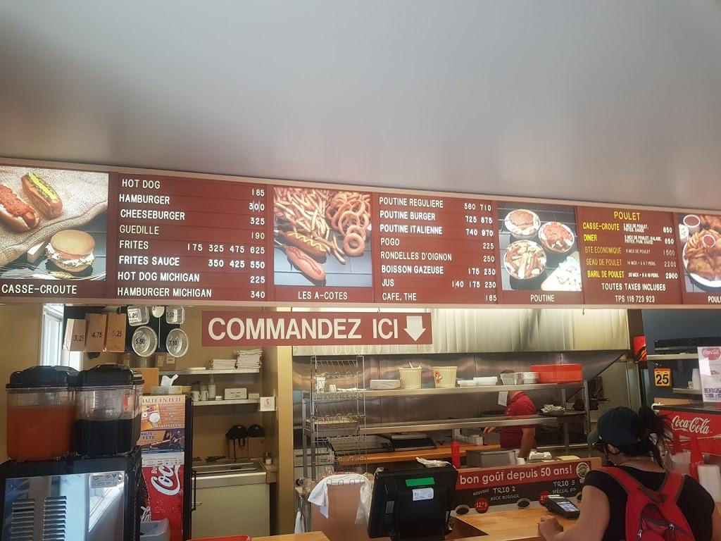 Cantine Normandin | restaurant | 1100 Avenue de lUnion, Saint-Césaire, QC J0L 1T0, Canada | 4504693988 OR +1 450-469-3988