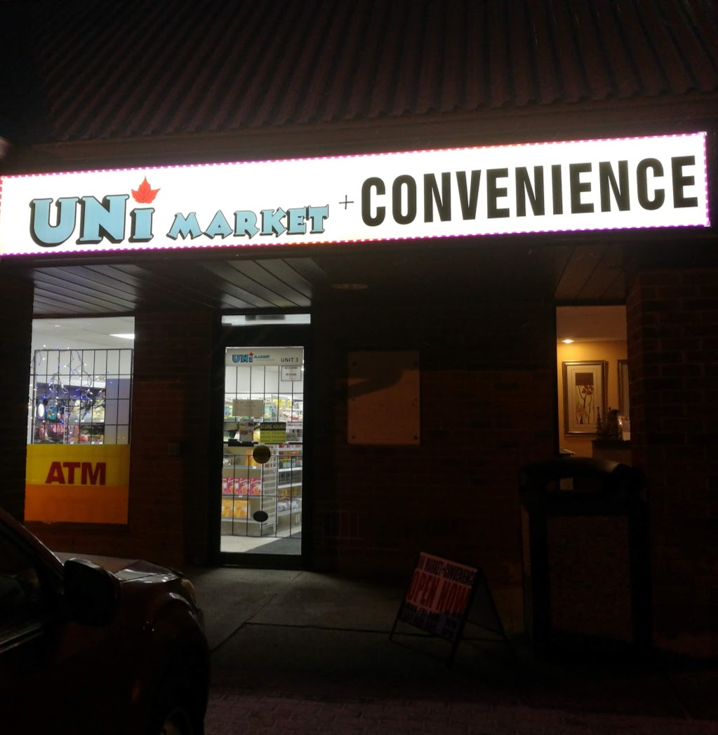 UNI MARKET+CONVENIENCE | convenience store | 573 Maple Ave UNIT #3, Burlington, ON L7S 2E8, Canada | 4168547181 OR +1 416-854-7181