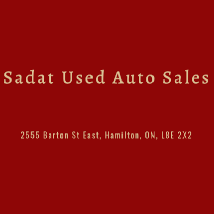 Sadat Used Auto Sales | car dealer | 2555 Barton St E, Hamilton, ON L8E 2X2, Canada | 9059234351 OR +1 905-923-4351