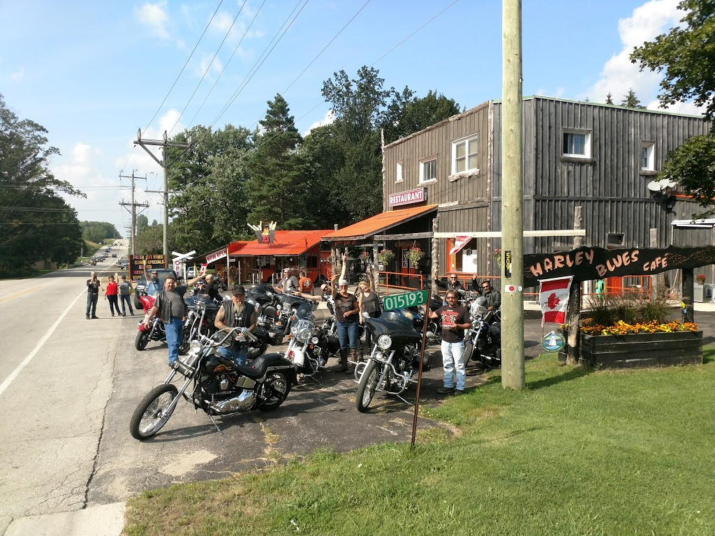 Harley Blues Cafe | cafe | 15193 Grey Bruce Line, Chesley, ON N0G 1L0, Canada | 5193636702 OR +1 519-363-6702