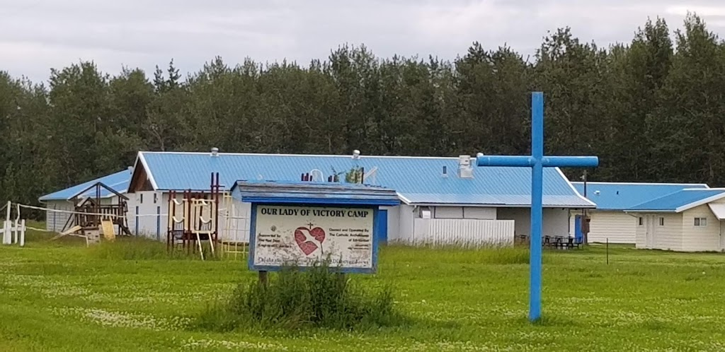 Our Lady of Victory Camp   point of interest   41203 Range Road 11, Lacombe County, AB T0C 0J0, Canada   4037482442 OR +1 403-748-2442