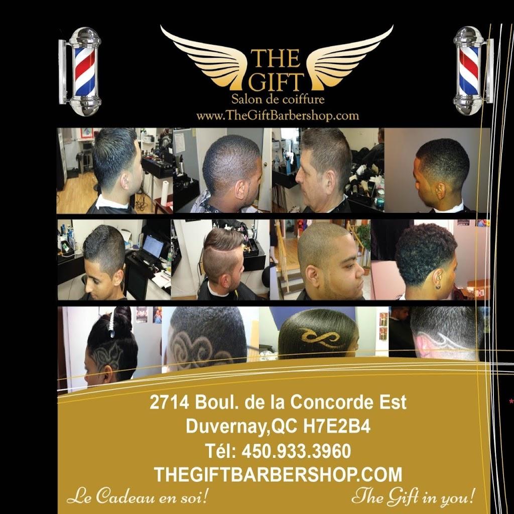 Hairdresser TheGift Barbershop inc. | hair care | 2714 Boulevard de la Concorde E, Laval, QC H7E 2B4, Canada | 4509333960 OR +1 450-933-3960