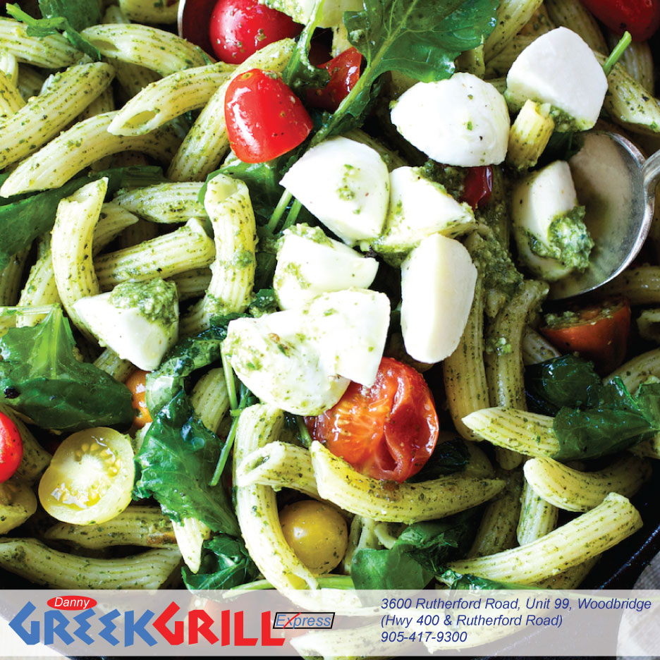 Danny Greek Grill Express | restaurant | 3600 Rutherford Rd Unit 99, Woodbridge, ON L4L 1A6, Canada | 9054179300 OR +1 905-417-9300
