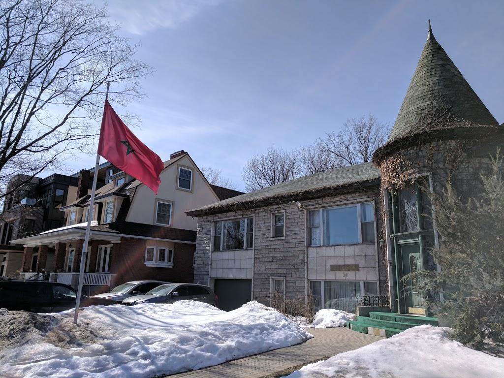 Embassy of the Kingdom of Morocco in Canada | embassy | 38 Range Rd, Ottawa, ON K1N 8J4, Canada | 6132367391 OR +1 613-236-7391