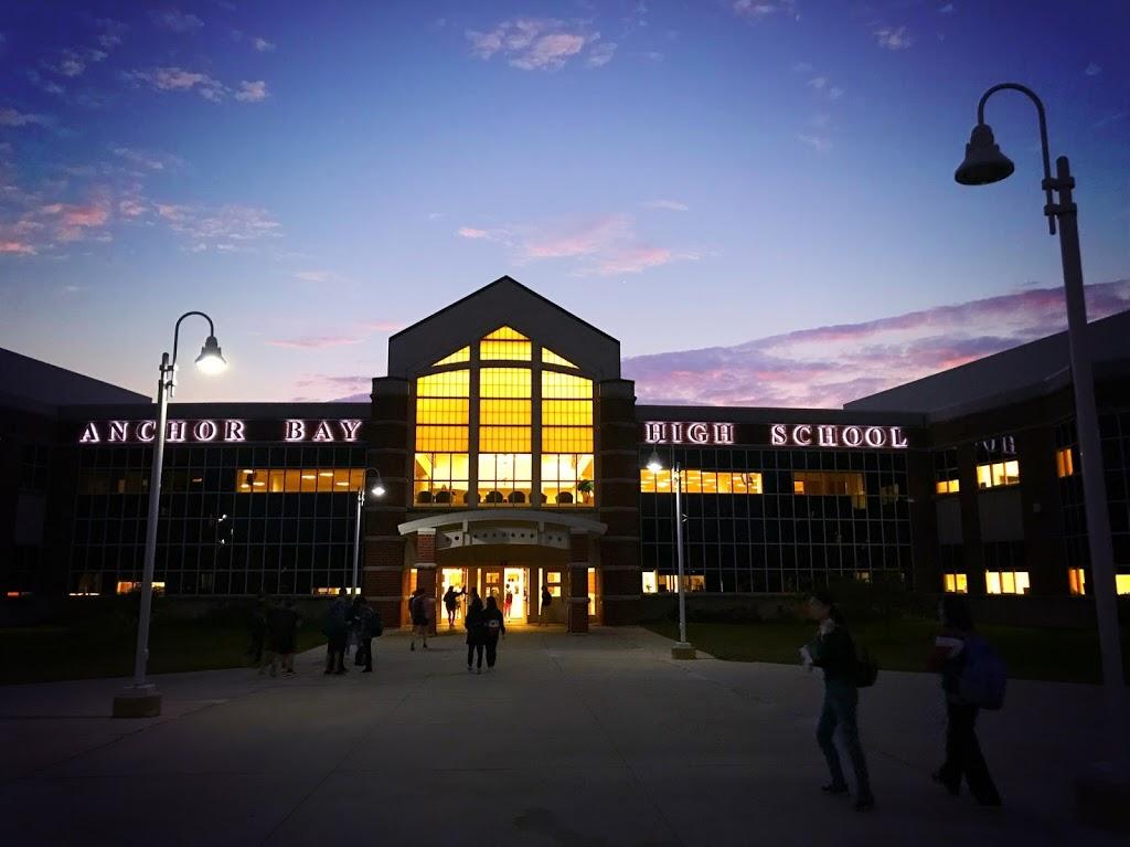 Anchor Bay High School | school | 6319 County Line Rd, Fair Haven, MI 48023, USA | 5866482525 OR +1 586-648-2525