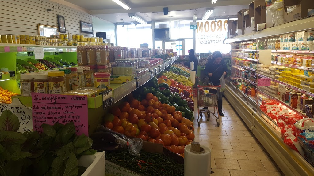 S.P. Importers Inc. (Grocery & Video)   store   2863 Lawrence Ave E, Scarborough, ON M1P 2S8, Canada   4162613881 OR +1 416-261-3881