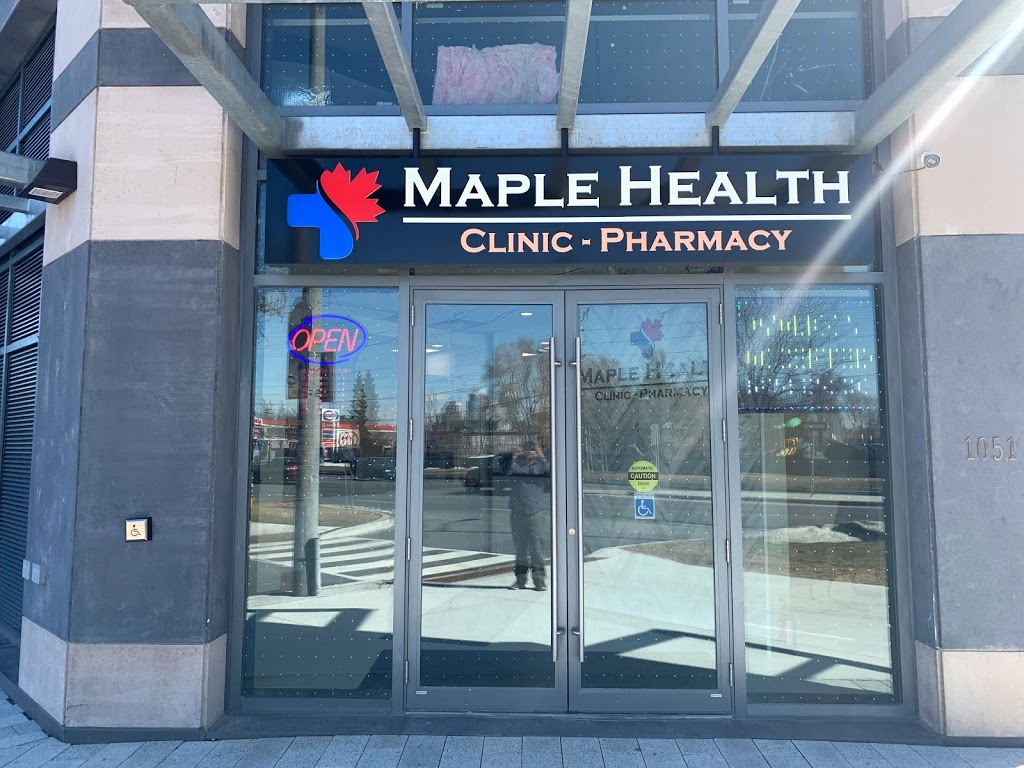 Maple Health Pharmacy & Clinic | health | 1051 Markham Rd, Scarborough, ON M1H 2Y5, Canada | 6476971000 OR +1 647-697-1000
