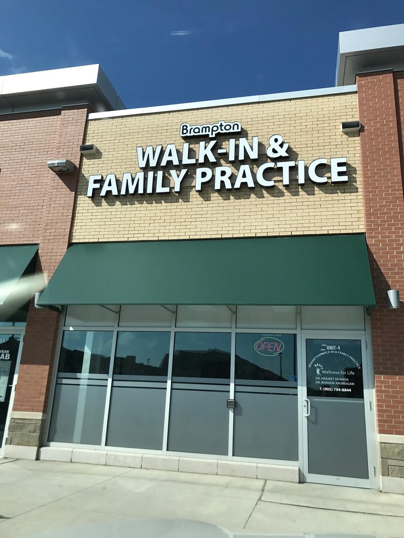 Brampton Walk in & Family Practice ( Dr. Harjeet Dhanoa )   hospital   9985 McVean Dr #4, Brampton, ON L6P 4K8, Canada   9057948844 OR +1 905-794-8844