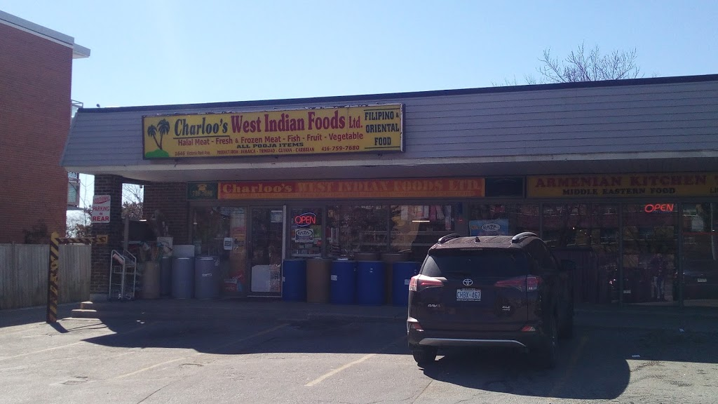Charloos West Indian Foods | store | 1646 Victoria Park Ave, North York, ON M1R 1P7, Canada | 4167597680 OR +1 416-759-7680